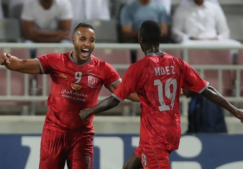 لیگ قهرمانان آسیا، شکست یک نیمه ای پرسپولیس مقابل الدحیل