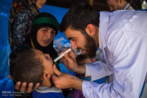 ارائه خدمات پزشکی به ساکنان 10 روستای محروم سرخس