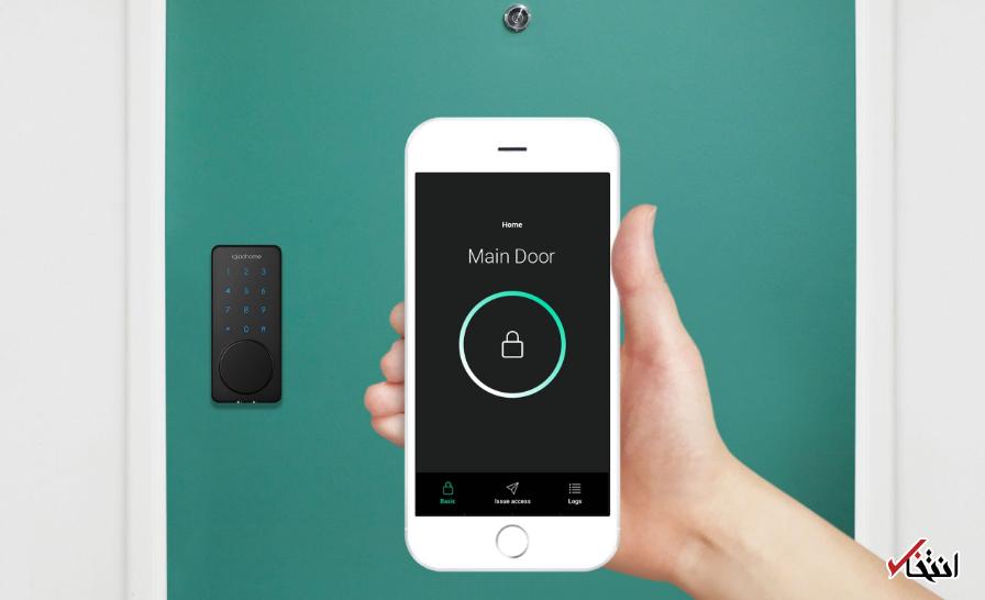 جدیدترین قفل هوشمند سال معرفی گردید ، همگام با بلوتوث و وای فای ، دارای اپلیکیشن کنترل از راه دور