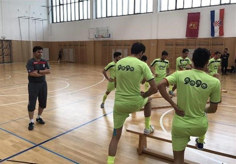 ناظم الشریعه 17 بازیکن را به اردوی تیم ملی فوتسال فراخواند