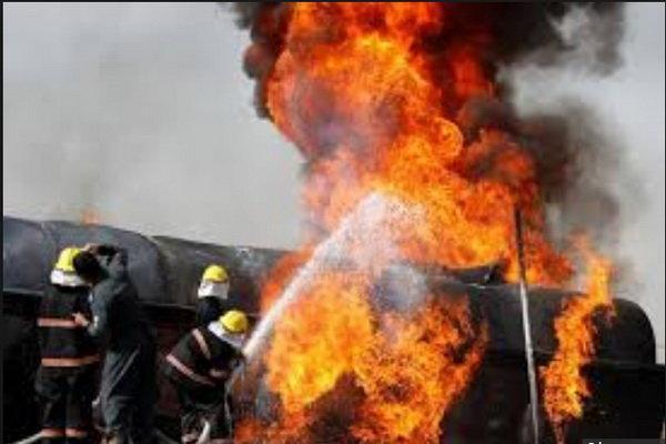 انفجار تانکر سوخت در کنگو 50 کشته و 100 زخمی به دنبال داشت