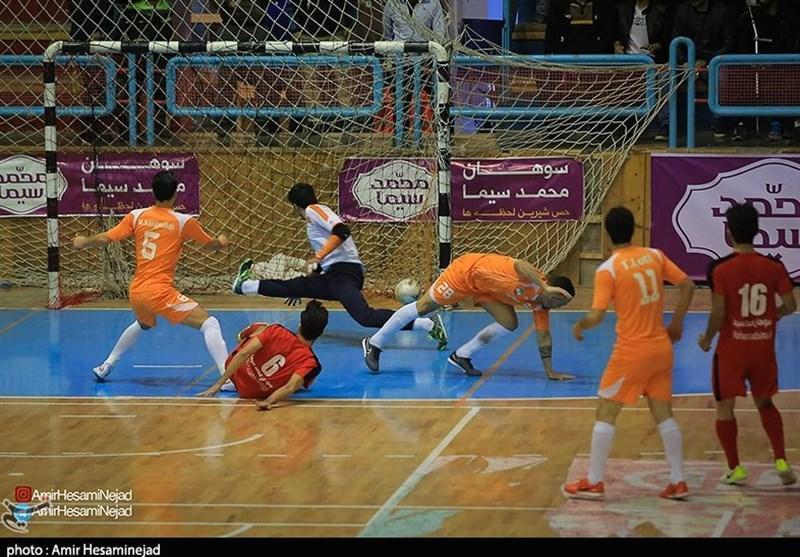 خاتمه نیم فصل اول لیگ برتر فوتسال با پیروزی مس سونگون