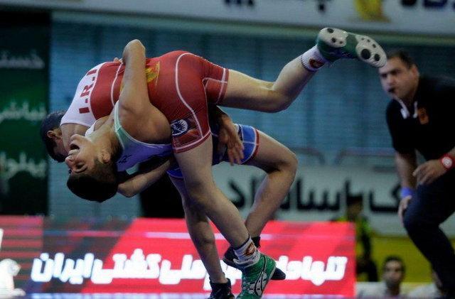 قهرمانی نونهالان ایران در کشتی آزاد و فرنگی جام کودک