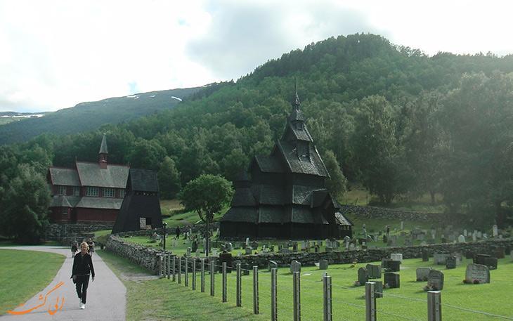 کلیساهای چوبی و قدیمی قرون وسطایی نروژ
