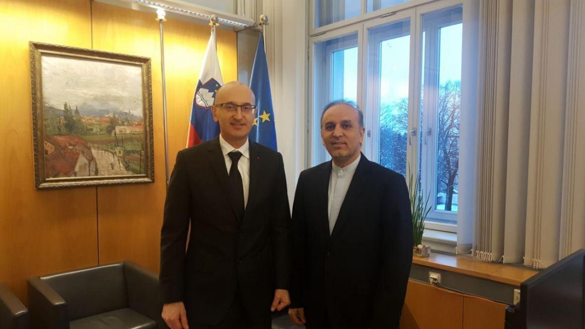 سفیر ایران در اسلوونی اطلاع داد: کوشش تهران برای برگزاری نخستین کمیسیون مشترک مالی ایران و اسلوونی