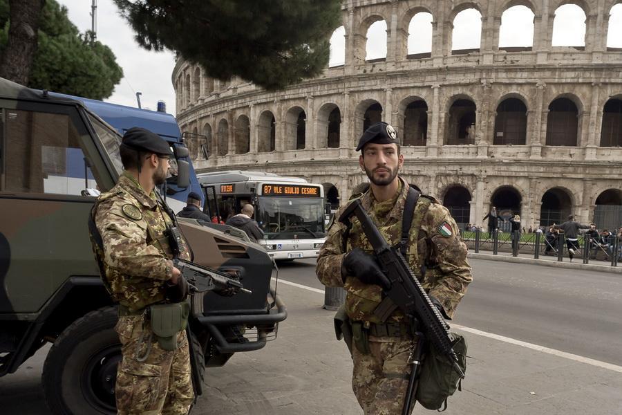 تدابیر شدید امنیتی در آستانه سفر رئیس جمهور چین به رم
