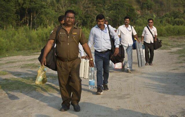 شروع سومین مرحله انتخابات پارلمانی هند
