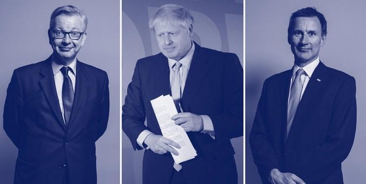 بوریس جانسون همچنان در صدر رقابت برای نخست وزیری انگلیس