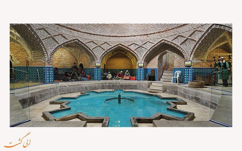 با حمام قجر در قزوین آشنا شوید