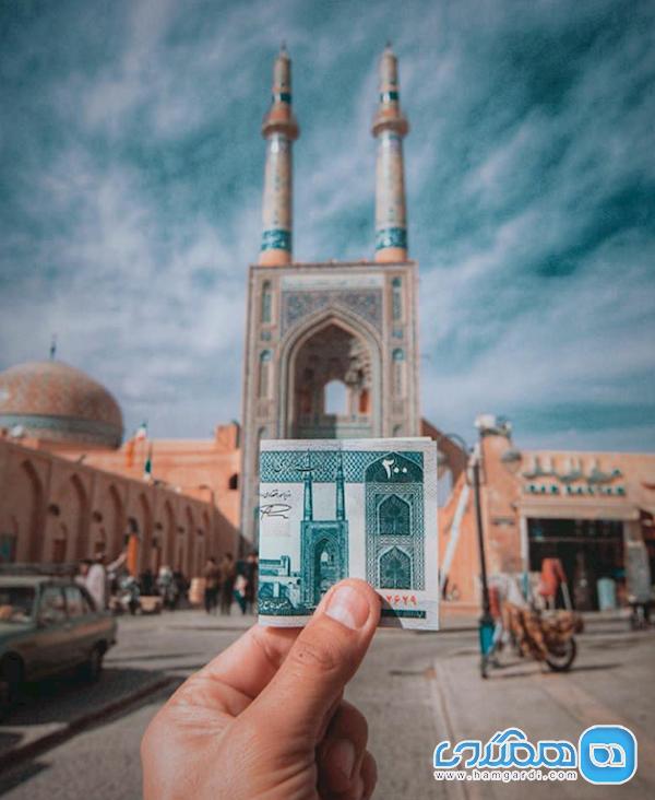 نمادها و نشانه ها در مسجد جامع یزد