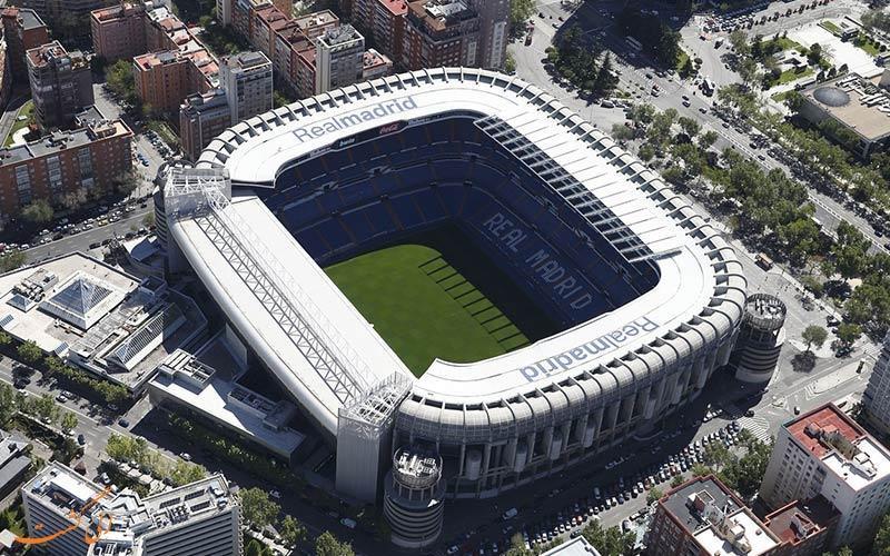 همه چیز درباره استادیوم سانتیاگو برنابئو، استادیوم اختصاصی تیم رئال مادرید