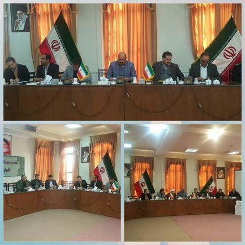 برگزاری جلسه خدمات سفر نوروز 98 در شهر گلبهار خراسان رضوی