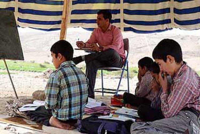 چالش کوچ عشایر و مدارس عشایر کوچ رو در خراسان شمالی