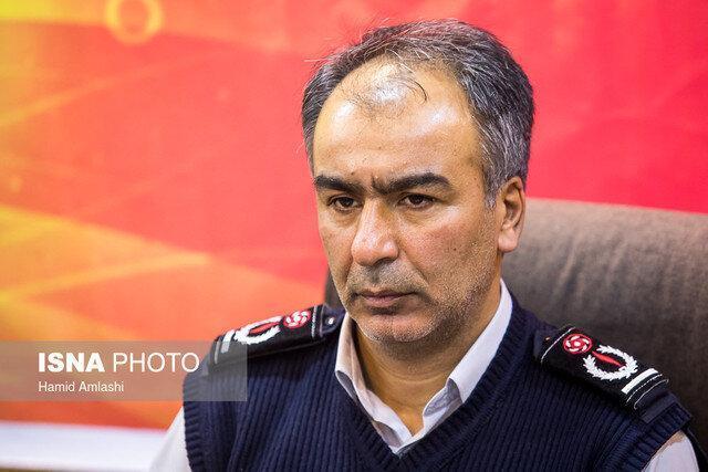 انجام 72 هزار عملیات آتش نشانی در تهران طی سال گذشته