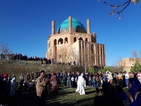 بازدید 3700 گردشگر خارجی از آثار تاریخی زنجان در نیمه نخست سال جاری