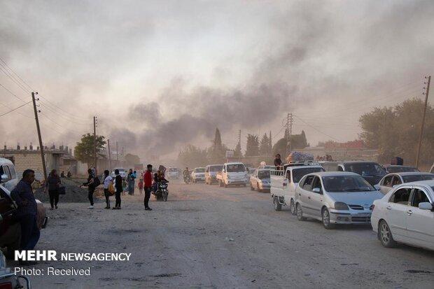 وخامت وضعیت انسانی در شمال سوریه به دنبال حمله ارتش ترکیه