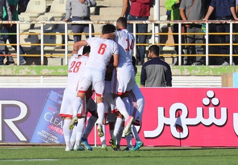 لیگ برتر فوتبال، تراکتور در قائمشهر نساجی را به چهارمیخ کشید، صعود موقت شاگردان دنیزلی به صدر جدول