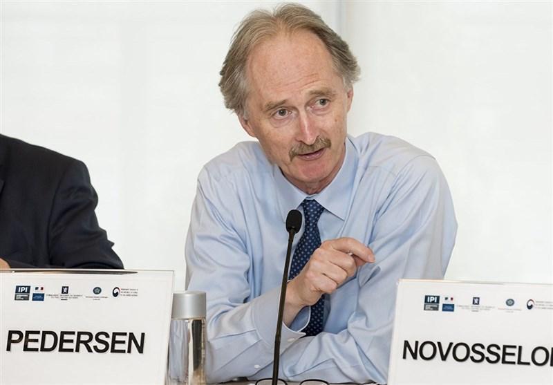 دیدار پترسون با وزیران خارجه ایران و روسیه و ترکیه، تشریح سازوکار مصوبات کمیته قانون اساسی سوریه