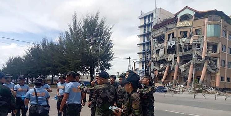 زلزله دوباره در فیلیپین، این بار در حضور دوترته