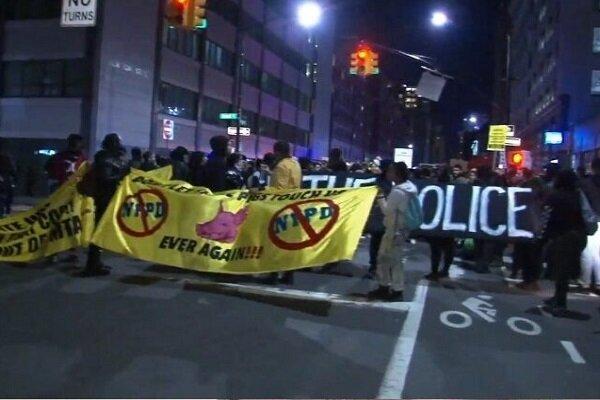 اعتراضات گسترده در آمریکا علیه تبعیض نژادی توسط پلیس