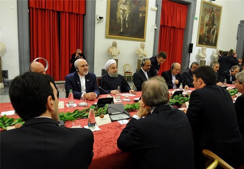 ایران و ایتالیا 14 سند همکاری امضا کردند
