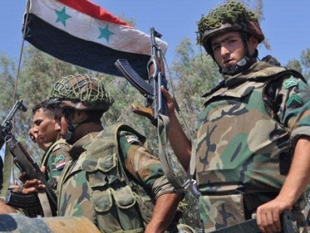 درگیری نظامیان و تروریست های وابسته به ترکیه با ارتش سوریه در الحسکه