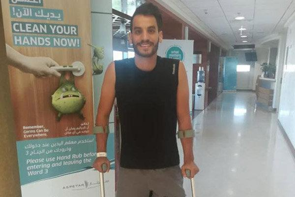 قهرمان اردنی المپیک آسیب دید، تغییر جهت میرهاشم برای سفر به توکیو