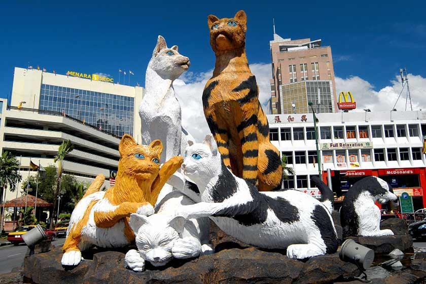 شهر گربه ها در مالزی (کوچینگ)