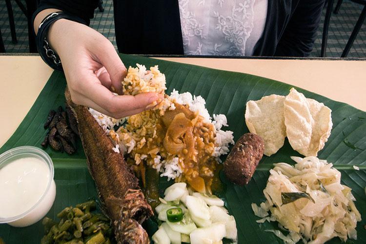 رژیم غذایی مردم مالزی
