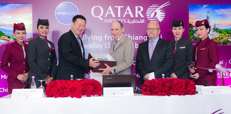همکاری هواپیمایی قطر ایرویز با تایلند گسترش یافت