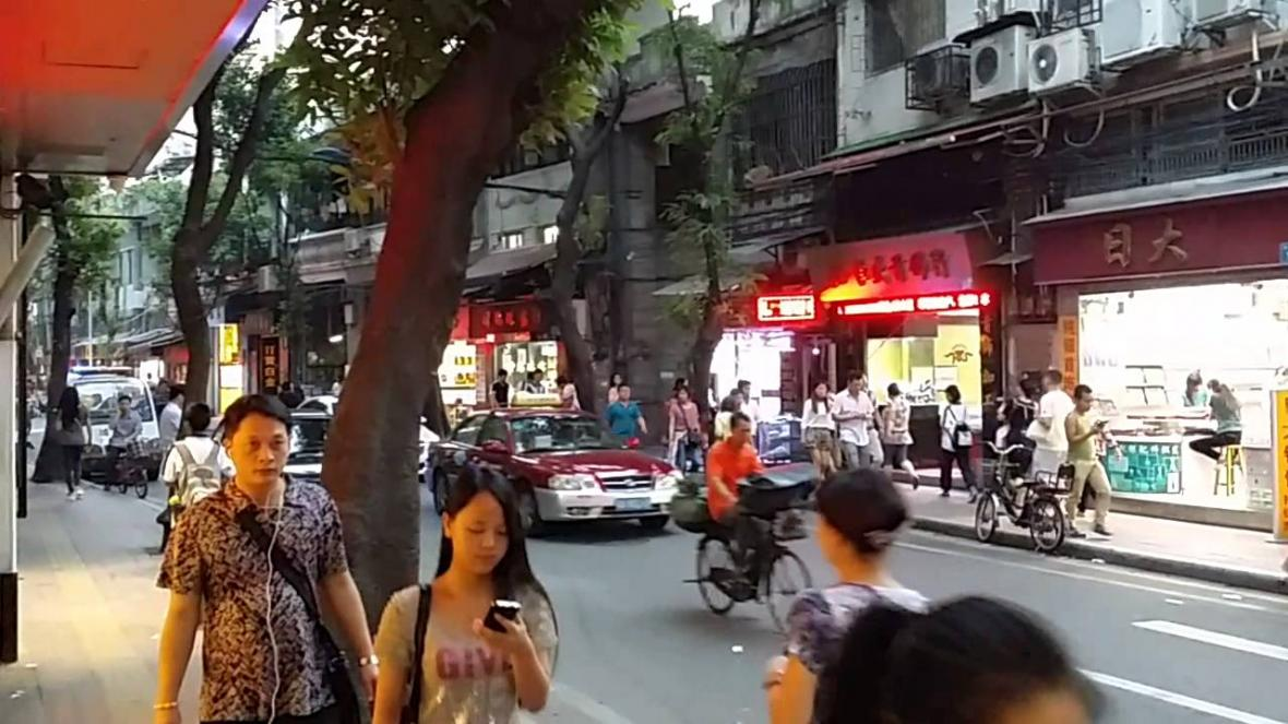 پیاده روی در شهر گوانجو چگونه خواهد بود