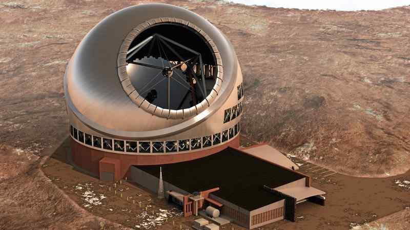 ساخت یک تلسکوپ بزرگ در جزایر قناری