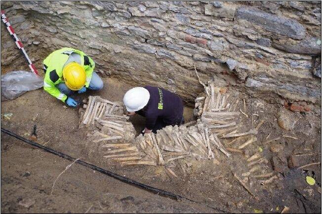 دیوار استخوانی؛ مقصد تازه گردشگری در بلژیک