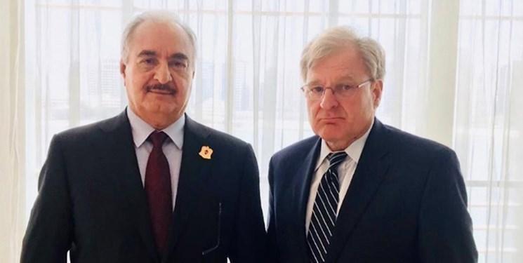 سفیر آمریکا در لیبی با سراج و حفتر ملاقات کرد