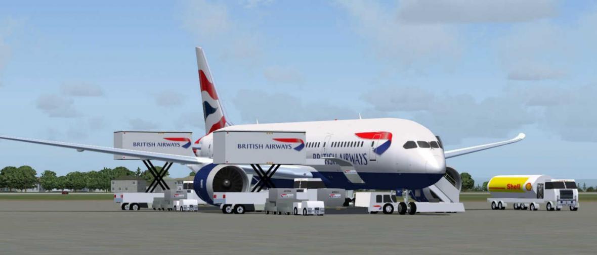 تجهیز بوئینگ 9-787 خط هوایی بریتانیا به جایگاه های جدید