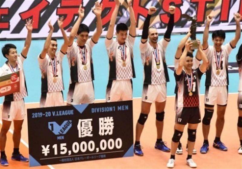 لیگ والیبال ژاپن، قهرمانی استینگز در سالن خالی، دست کوبیاک به جام نرسید