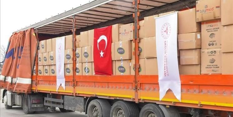 ارسال یاری های ترکیه به ایران برای مقابله با کرونا