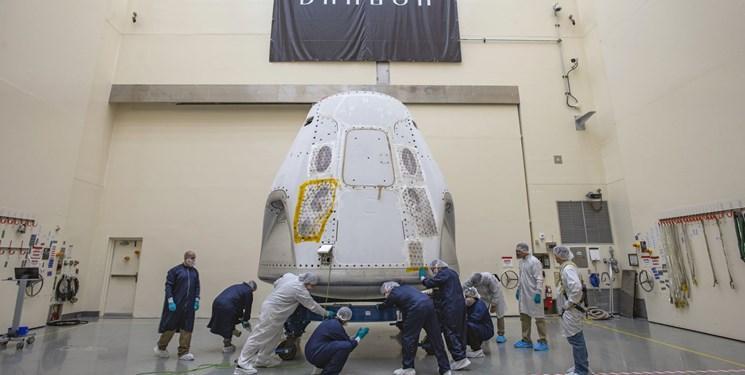 نخستین پرواز فضایی انسانی از خاک آمریکا هفته آینده انجام می گردد