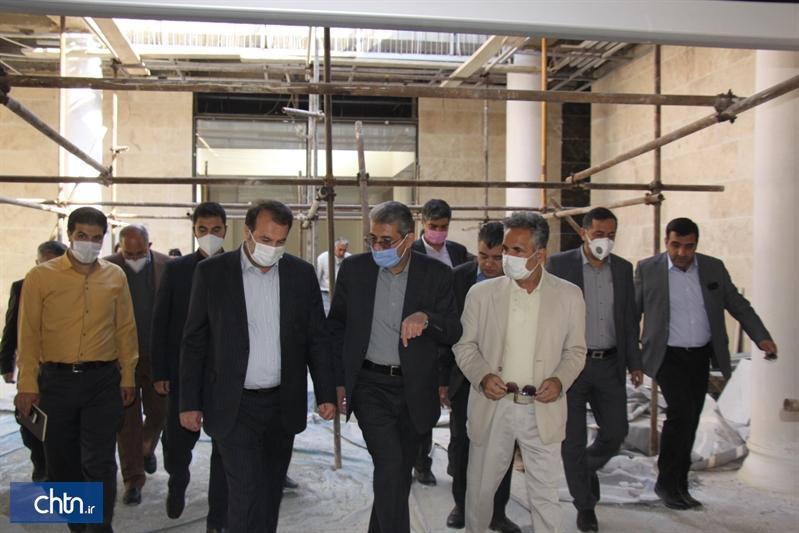 افزایش حضور گردشگران در استان فارس با بهره برداری از مرکز فرهنگی سعدی