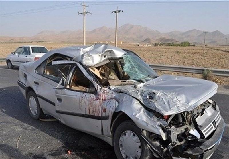 تصادف خونین در جاده مرگ 8 کشته و 1 مجروح بر جای گذاشت