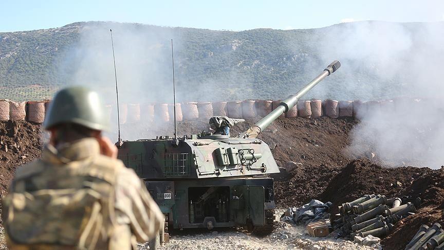 خبرنگاران حمله توپخانه ای ترکیه به شمال سوریه