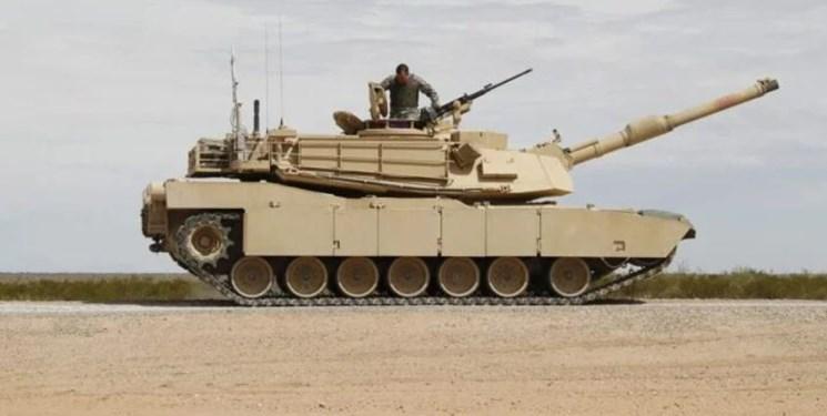 عکس ، شلیک تانک آمریکایی به تانک خودی یک زخمی بر جا گذاشت