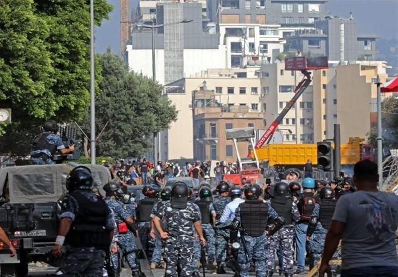 المنار: درگیری ها در مرکز بیروت تشدید شد