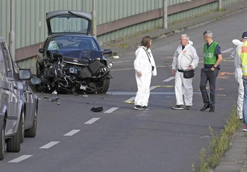 حمله تروریستی در اتوبان برلین، وقوع تصادفی عمدی توسط فرد مظنون