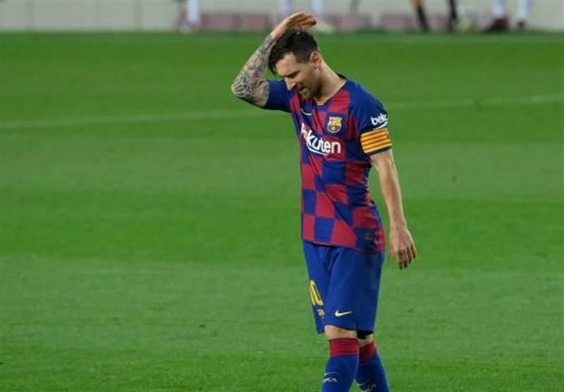 مسی برای دادن تست کرونا به زمین تمرینی بارسلونا برنمی شود