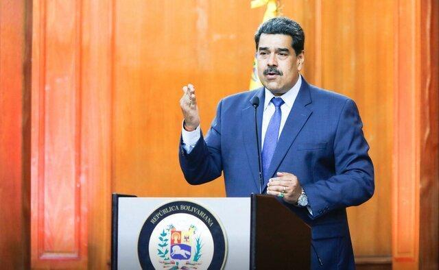 مادورو از بازداشت جاسوس آمریکا در اطراف پالایشگاه ها اطلاع داد