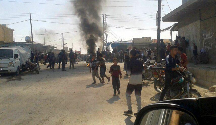 ربوده شدن 10 غیرنظامی توسط شبه نظامیان تحت حمایت آمریکا در سوریه