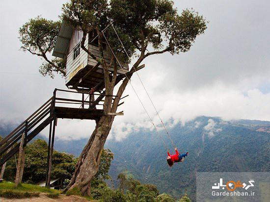 راز تاب بلند مشهور در کوه های اکوادور