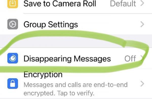 قابلیت پیام های ناپدید شونده نرم افزار واتس اپ