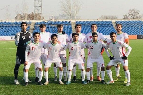 پیروزی نوجوانان ایران مقابل تاجیکستان